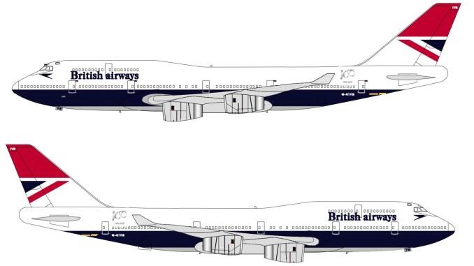 British Airways G-CIVB NEGUS
