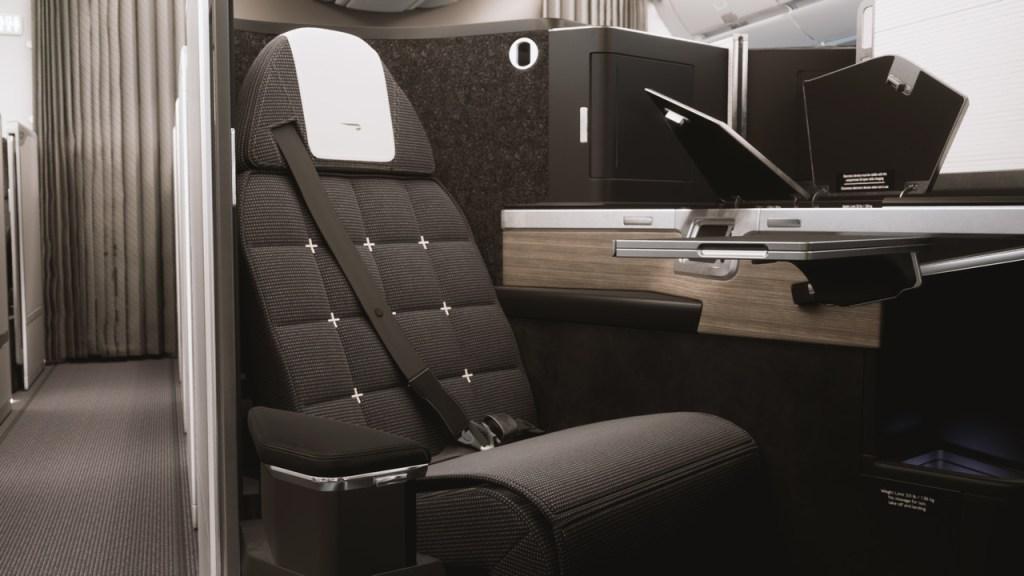 British Airways new Club Suite