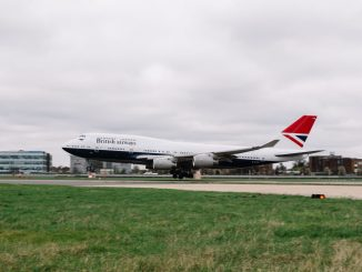Boeing 747-400 G-CIVB in NEGUS livery (Image: Stuart Bailey/British Airways)