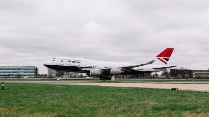 Boeing 747-400 G-CIVB in NEGUS livery (Image: Stuart Bailey/British Airways)