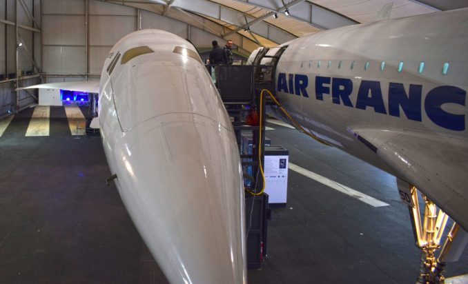 Concorde 001 at the Air and Space Museum, Le Bourget