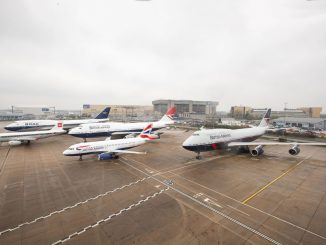 BA100 Aircraft line up at Heathrow (Image: BA)