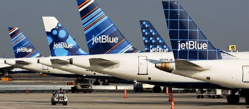 JetBlue is the sixth largest US airline