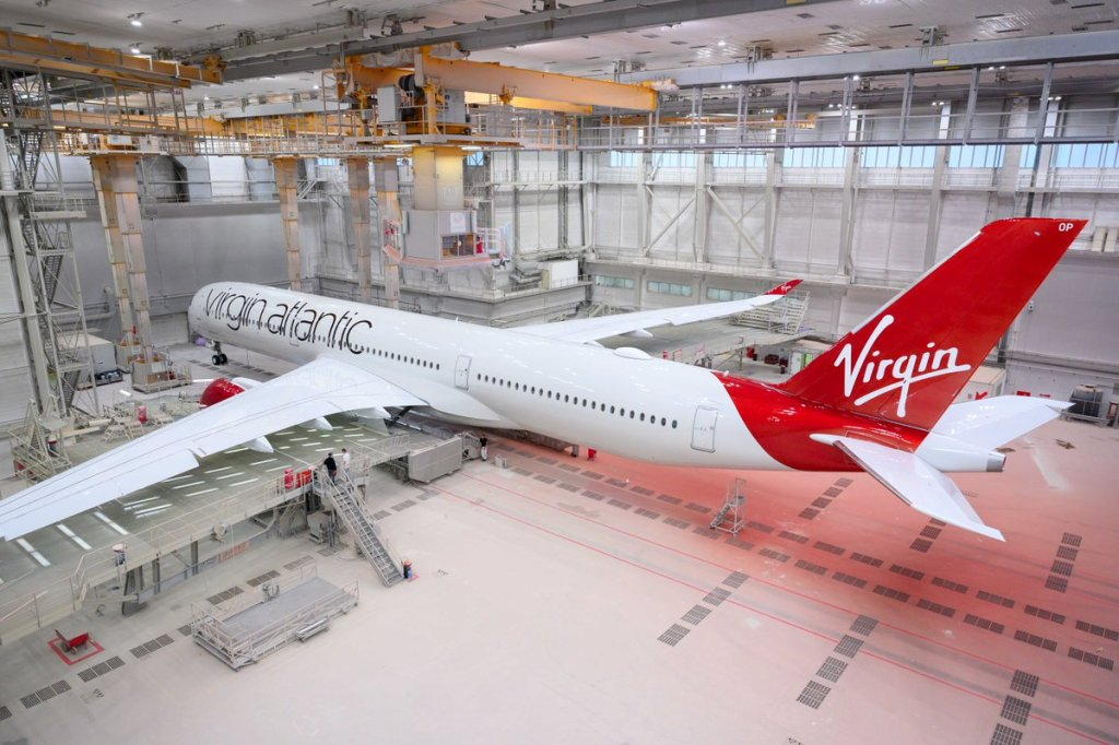 Virgin Atlantic's Airbus A350-1000XWB (Image: Virgin Atlantic)