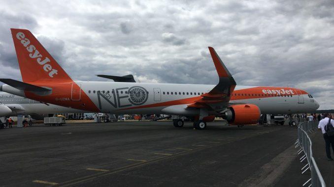 Easyjet Airbus A321neo G-UZMA