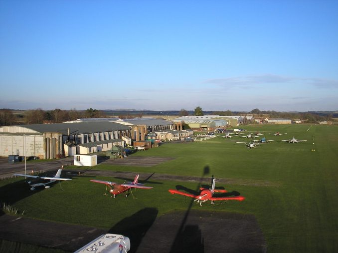 Old Sarum Airfield (Image: OSA/Facebook)