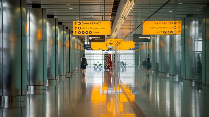 Heathrow Airport Terminal File Image