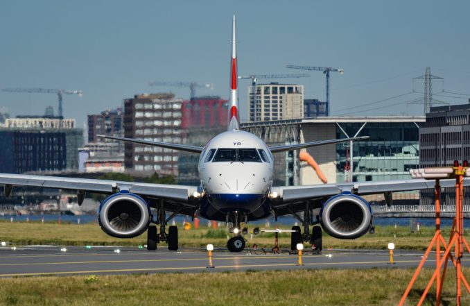 BA Cityflyer Embraer E-Jet E190 G-LCYR at London City Airport (Image: Aviation Media Agency)