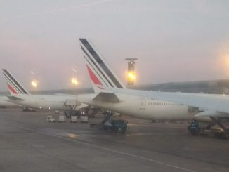 Air France aircraft at Paris CDG