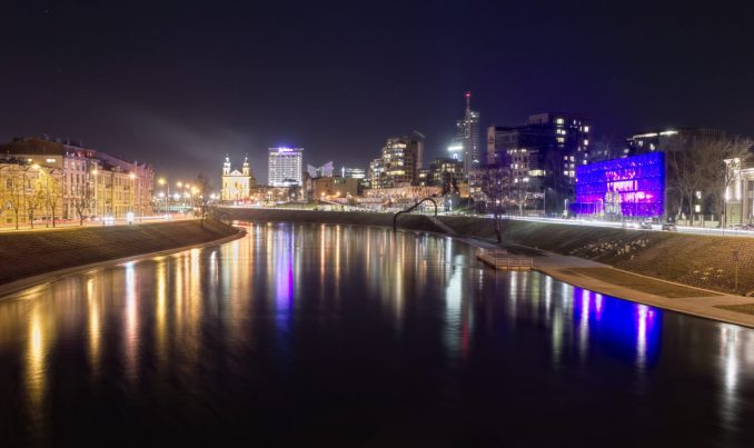 Vilnius, Lithuania is becoming a popular city break for British & Irish tourists