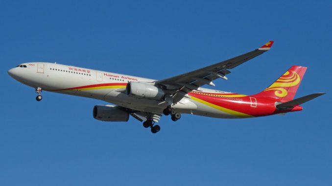 Hainan Airlines Airbus (Image: N509FZ CC BY-SA4.0)