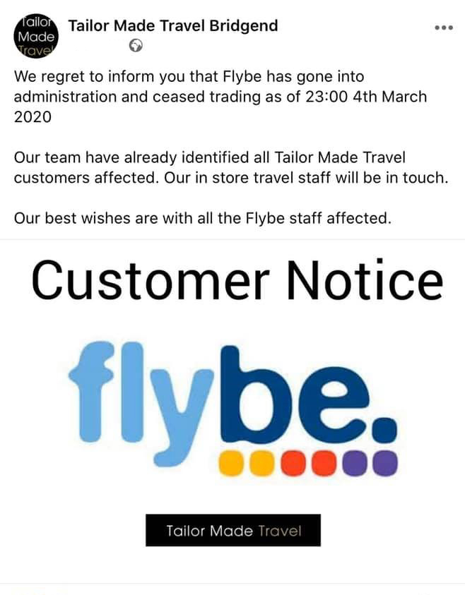 tailor made travel announcement