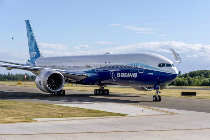 The 777X is Boeings latest widebody airline. (Image: Boeing)