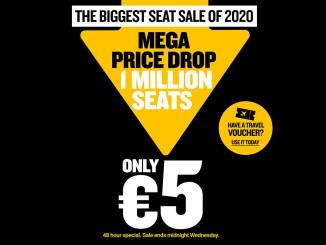 Ryanair Megadrop wide