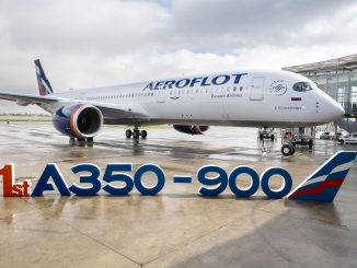 Aeroflot Airbus A350-900 (Image: Airbus/P Masclet)