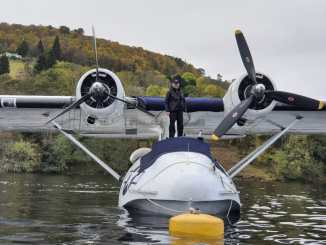 Miss Pick Up on Loch Ness (Image: Plane Sailing)