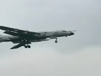 Hypersonic Missile on Chinese Xian H-6N Bomber