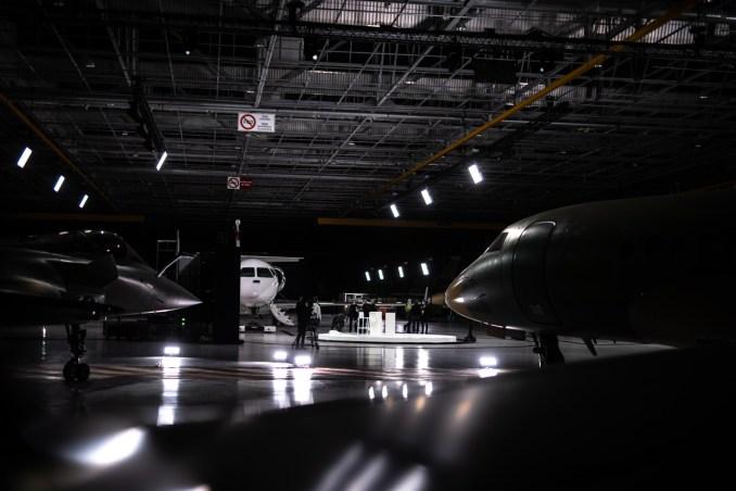 Dassault Falcon 6X Rollout