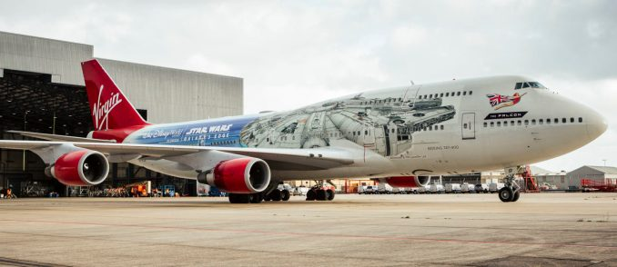 The Falcon G-VLIP (Image: Virgin Atlantic)