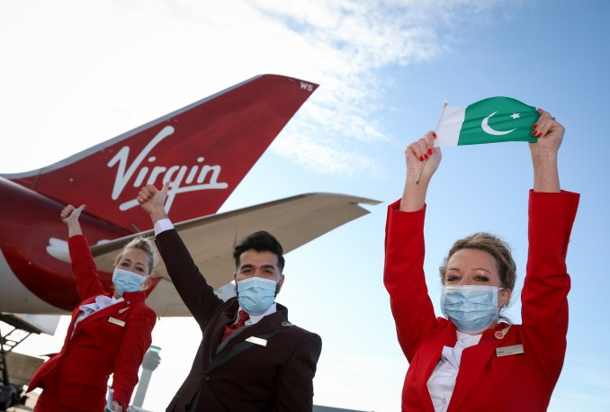 Virgin MAN to Islamabad Dec 10th Launch 2020