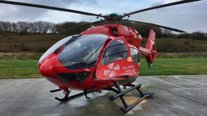 Wales Air Ambulance EC145
