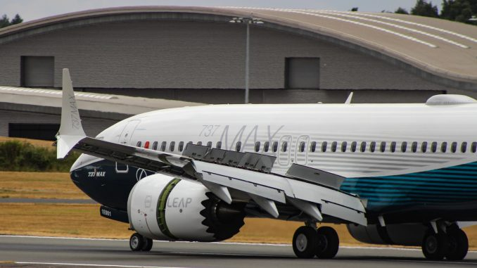 Boeing 737 Max (Image: TransportMedia UK)