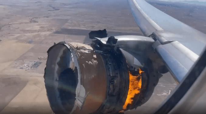 UA328 Engine Explosion