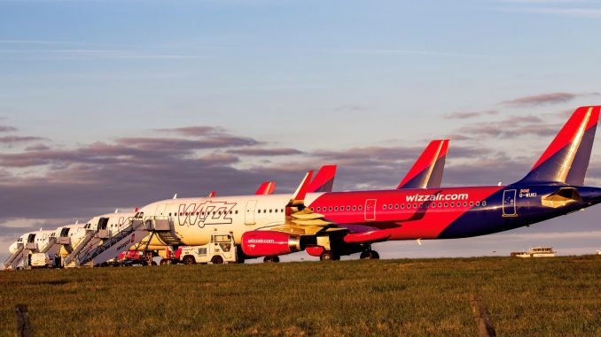 The Wizz Air A321s (Image:Mark Parsons)