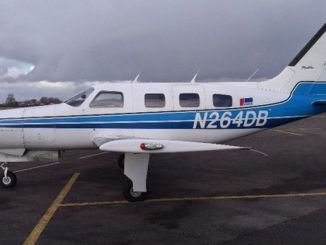 Piper Malibu N264DB was owned by Fay Keely's family trust (Image: AAIB)