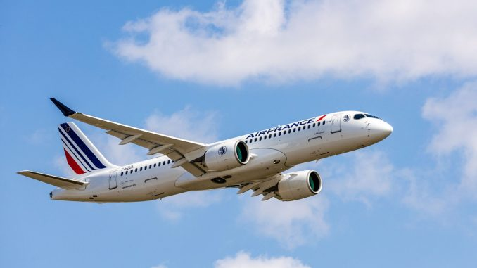 Airbus A220 delivery to Air France