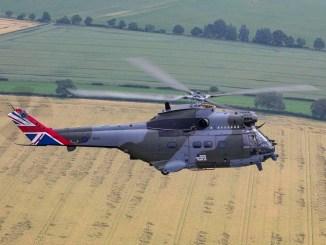 RAF anniversary Puma (Image: Crown Copyright 2021)