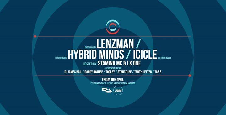 Circles: Lenzman, Hybrid Minds, Icicle