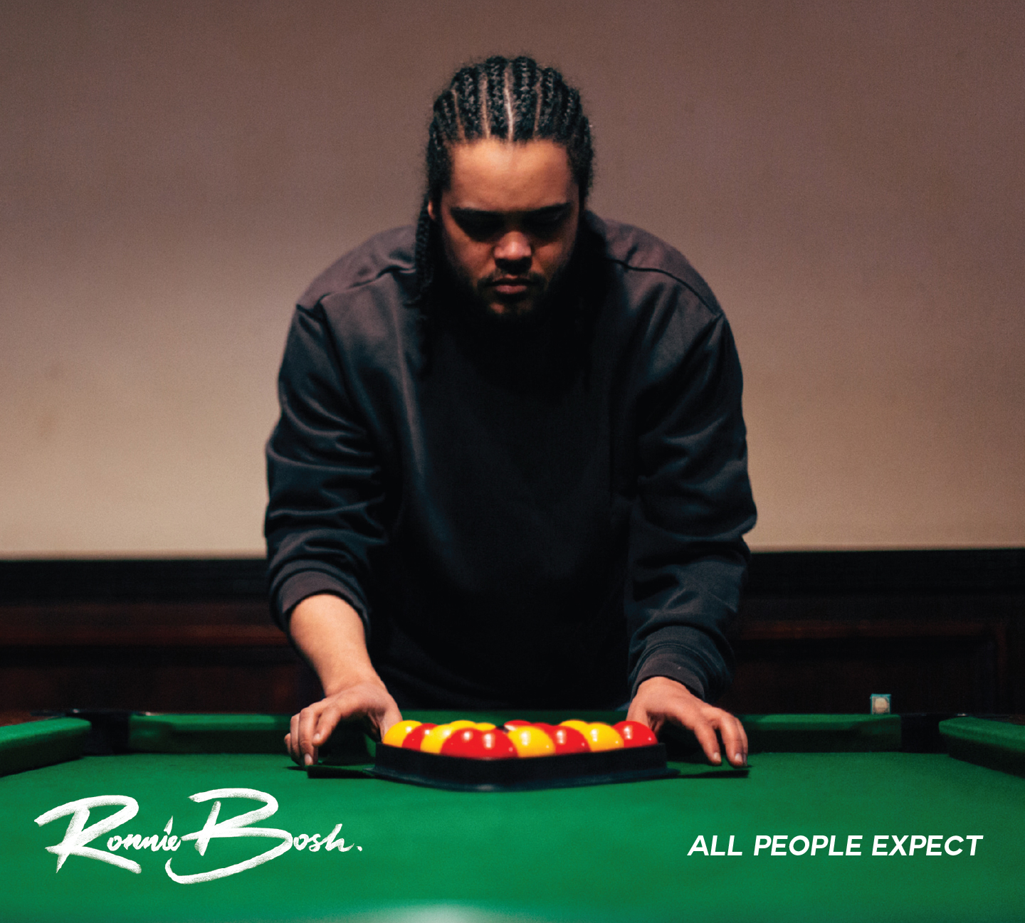Ronnie Bosh - All People Expect - Front Cover