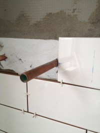 Drill Hole In Tile For Shower Head | Tile Design Ideas