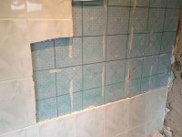 Tile Over Tile Bathroom Floor - Wood Floors