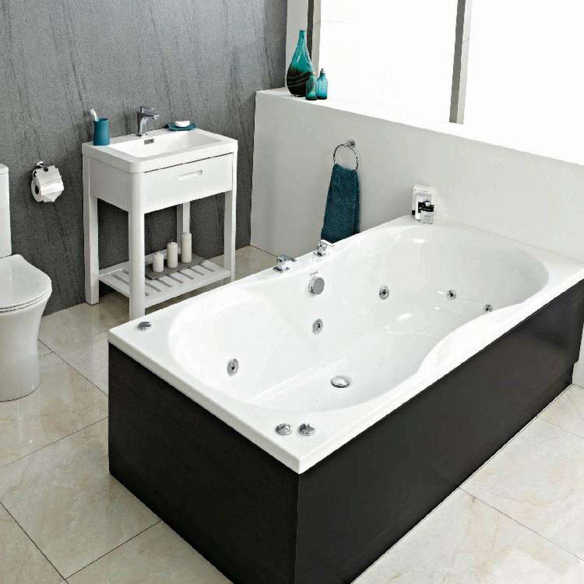 Whirlpool Baths Standard Widths & Extra Wide  Uk Bathrooms