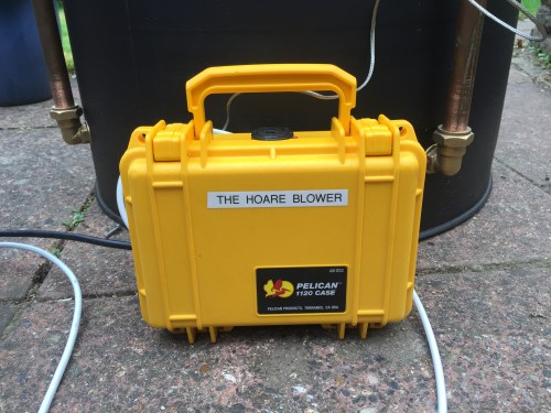 small resolution of my version of the hoare blower is in a peli 1120 case to keep it dry