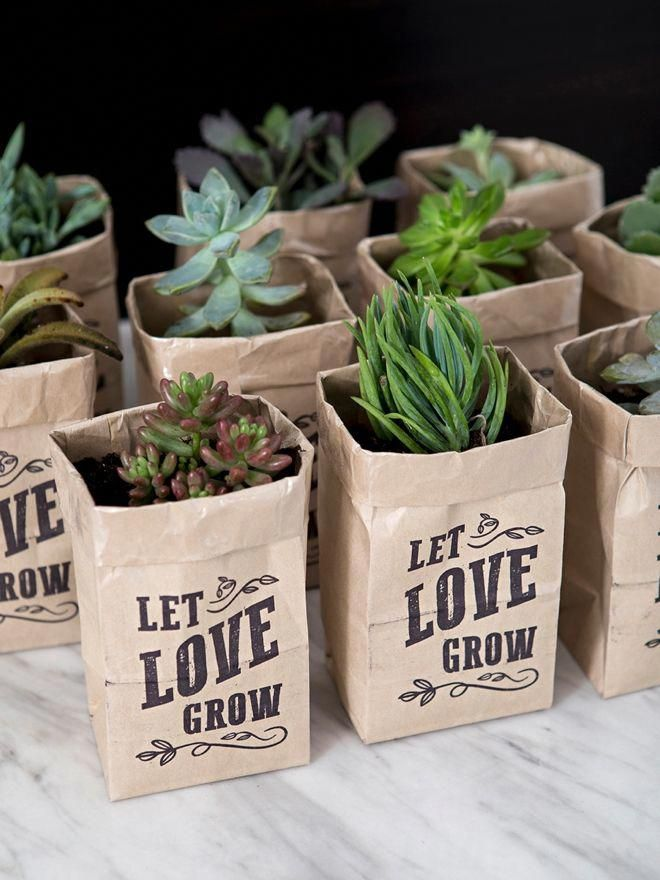 Let Love Grow Bags