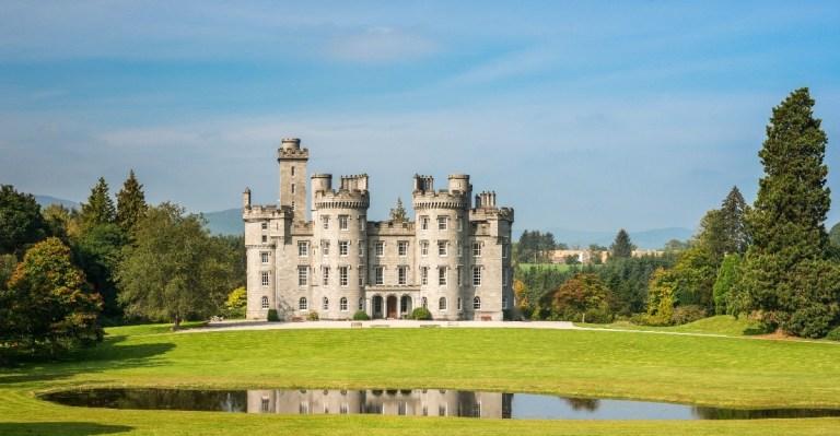 Cluny Castle, Aberdeen.