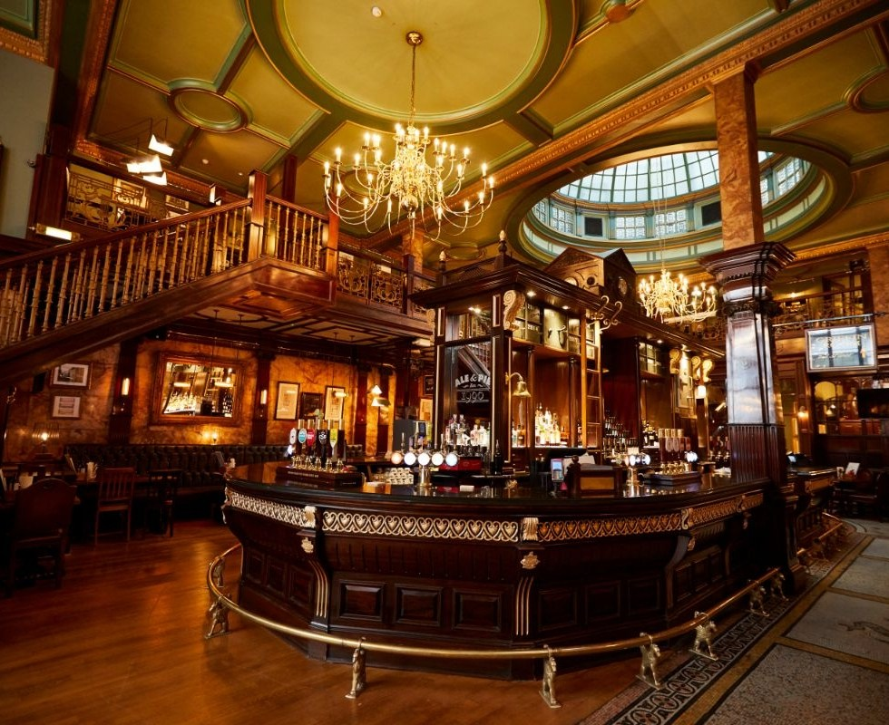 A traditional London pub that is done well for weddings!