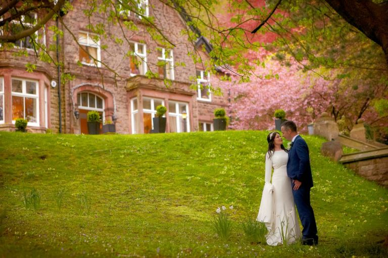 Get dreamy wedding photos at this Derbyshire delight.