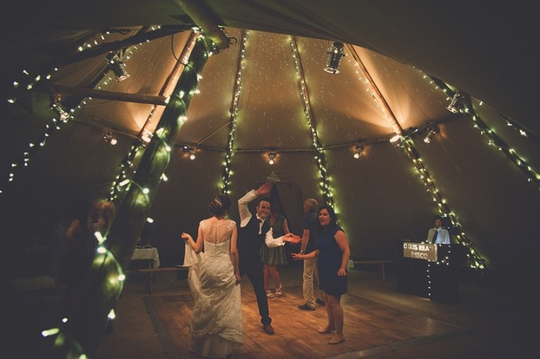 Photography by Charlotte Maddison and the tipi was provided by Papakata Teepees. Beautiful wedding!