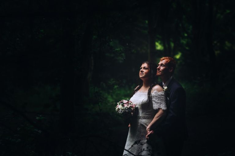 Get lost in the woods on your wedding day. You won't regret the dreamy photos you'll get in and around Derby!