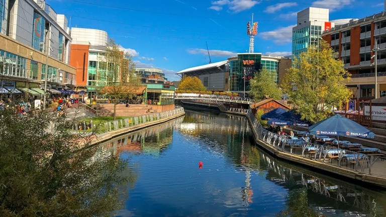 The calm and tranquil city of Reading.