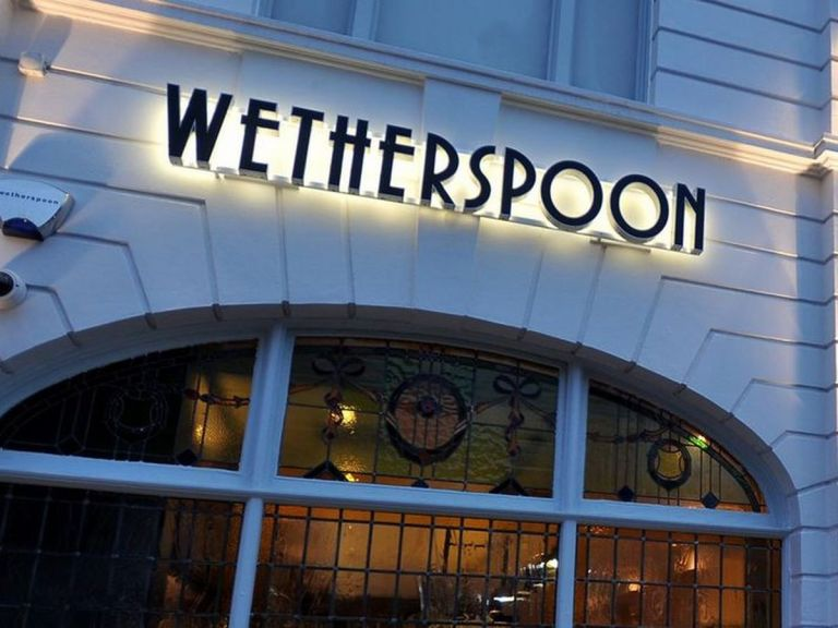 Gotta love a Wetherspoons!