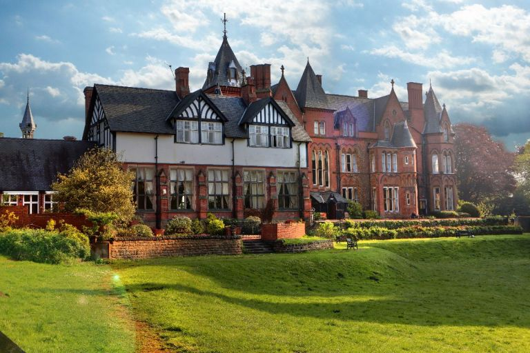This beautiful venue has Victorian and gothic features to it.