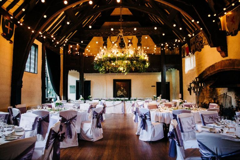 Emma and Adam tied the knot in one of our favourite venues - Samlesbury Hall in Preston.