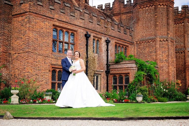 This castle-like venue will make you feel like king and queen!
