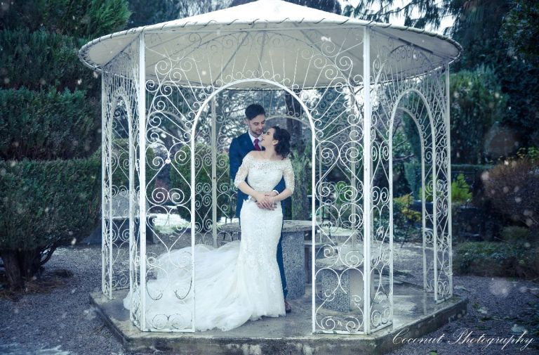 For some winter wedding inspiration, here's Amy and Jake! They married at Bellavista in Rochdale.