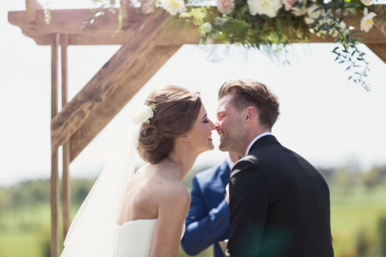 You may now kiss the bride!